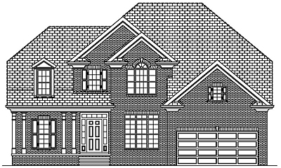 Two Story Traditional Style House Plan 27-01
