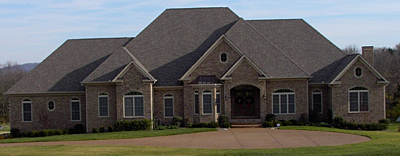 One Story Traditional Style Home Plan 47-01